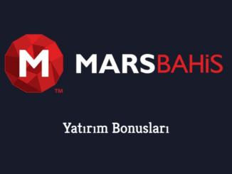 Marsbahis Yatırım Bonusları