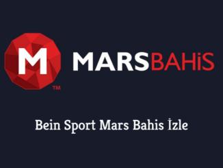 Bein Sport Mars Bahis İzle