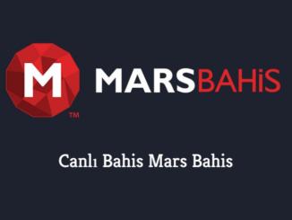 Canlı Bahis Mars Bahis