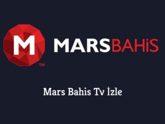 Mars Bahis Tv İzle